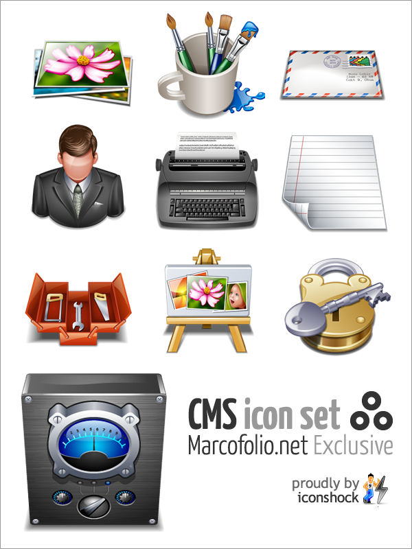CMS Icon Pack