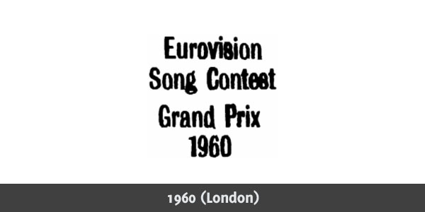 Eurovision Song Contest 1960 logo