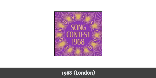 Eurovision Song Contest 1968 logo
