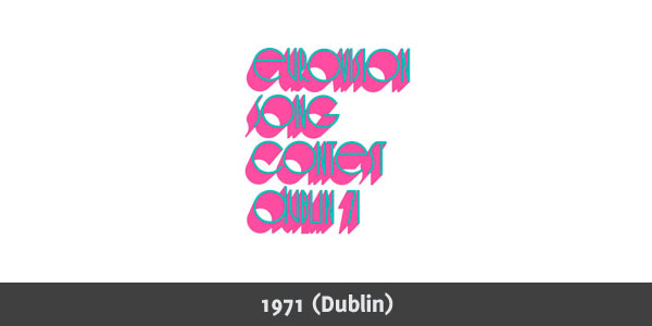 Eurovision Song Contest 1971 logo