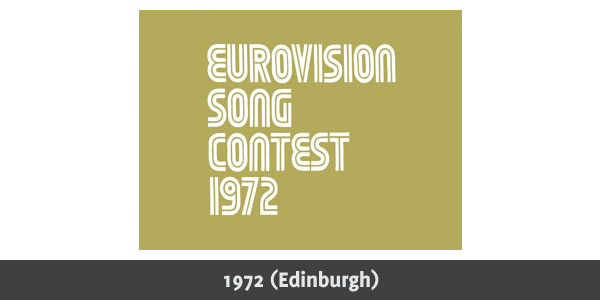 Eurovision Song Contest 1972 logo