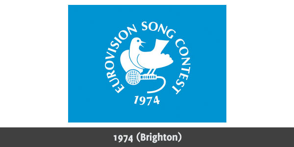 Eurovision Song Contest 1974 logo