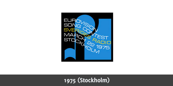 Eurovision Song Contest 1975 logo