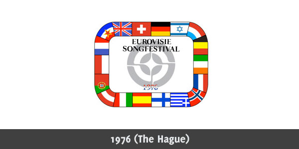 Eurovision Song Contest 1976 logo