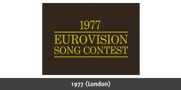 Eurovision Song Contest 1977 logo