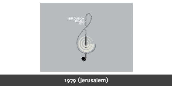 Eurovision Song Contest 1979 logo