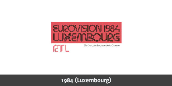 Eurovision Song Contest 1984 logo