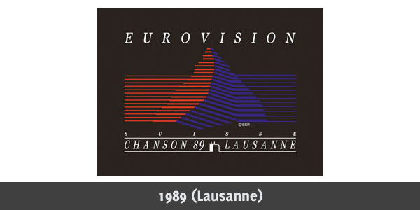 Eurovision Song Contest 1989 logo