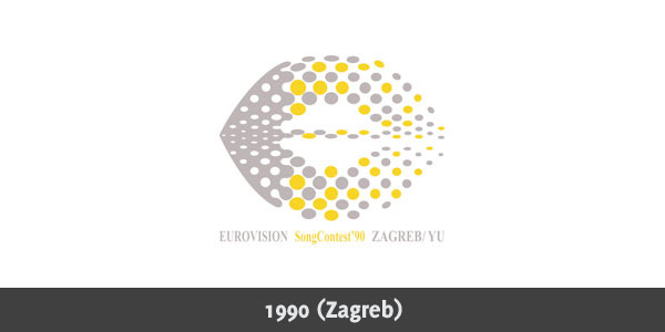 Eurovision Song Contest 1990 logo