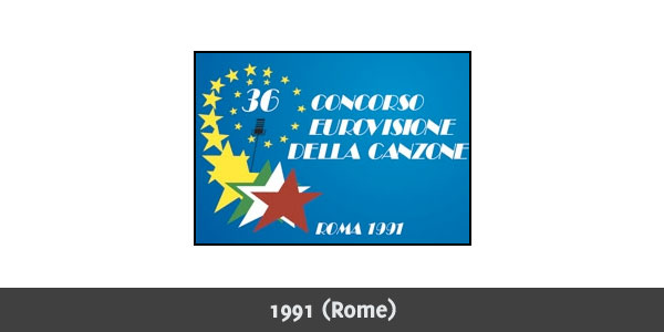 Eurovision Song Contest 1991 logo