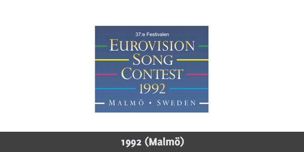 Eurovision Song Contest 1992 logo