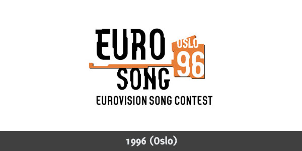 Eurovision Song Contest 1996 logo