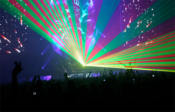 wicked laser shows inspiration