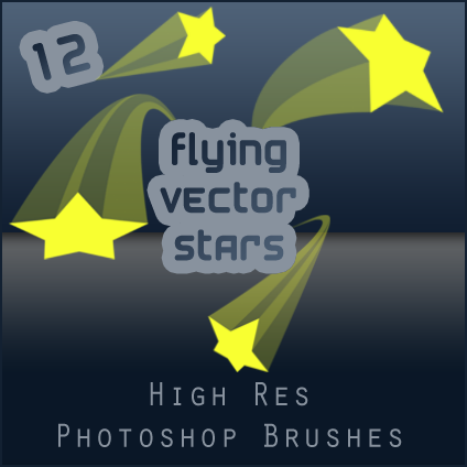 Flying Vector Stars