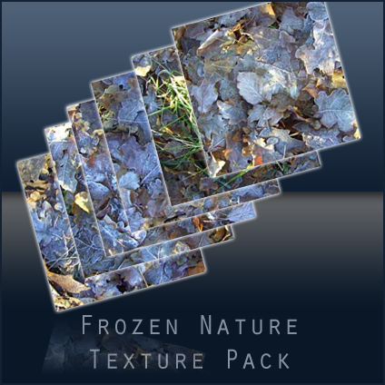 Frozen Nature High Resolution Texture Pack