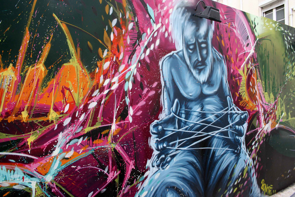 Graffiti art to boost your