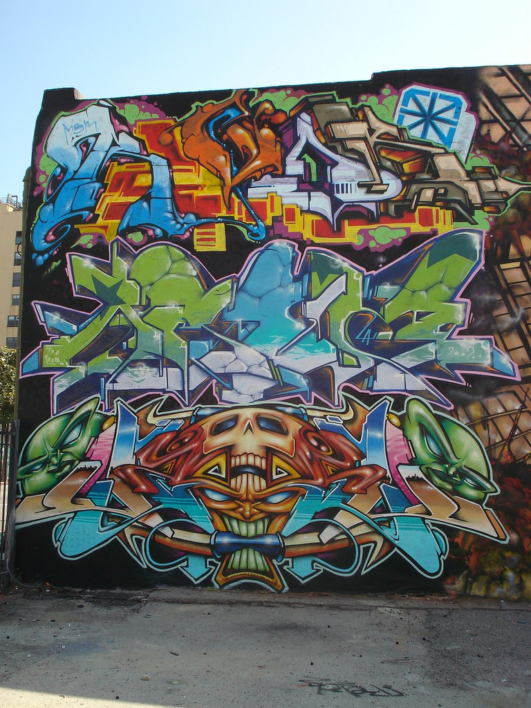 Graffiti art to boost your inspiration