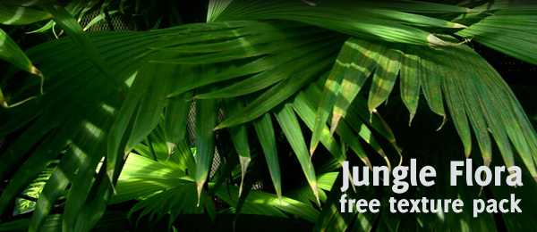 Jungle Flora Texture Pack