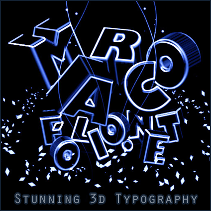 how to make typography in photoshop