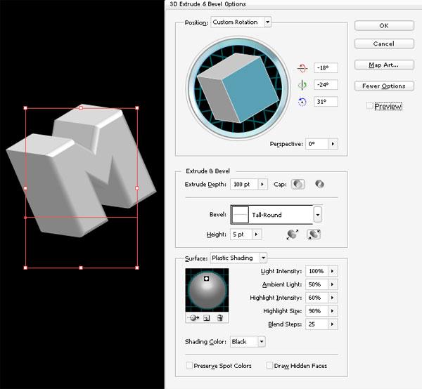 stunning 3d typo 01 Tạo Kiểu Chữ 3D với Ánh Sáng Neon Tuyệt Đẹp