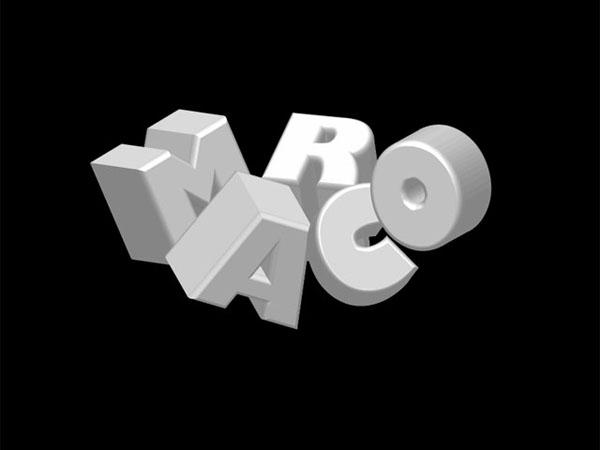 stunning 3d typo 02 Tạo Kiểu Chữ 3D với Ánh Sáng Neon Tuyệt Đẹp