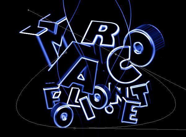 stunning 3d typo 11 Tạo Kiểu Chữ 3D với Ánh Sáng Neon Tuyệt Đẹp