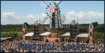 Q-dance festival logos