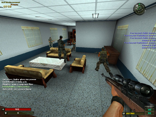 free online shooter multiplayer games