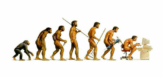 Evolution of the human kind