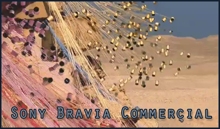 Sony Bravia Pyramid Commercial