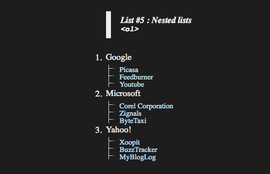 8 Different Ways To Beautifully Style Your Html Lists With Css