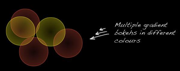 Pure CSS3 bokeh effect - 05