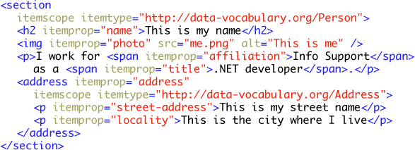 HTML5 Microdata 06