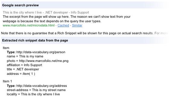 HTML5 Microdata 07