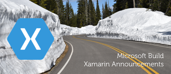 Xamarin Announcements from Microsoft Build