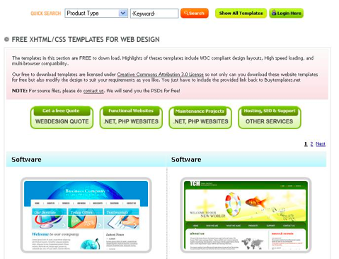 Utilizing Free Website Templates to Host Your Website