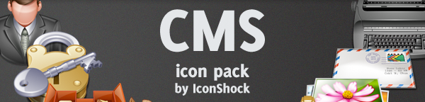 Exclusive: Free CMS icon set