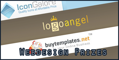 Christmas Giveaway - Web Design Prizes