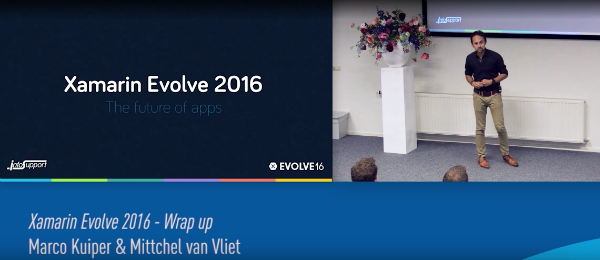 Presentation: Evolve 2016: Wrap up