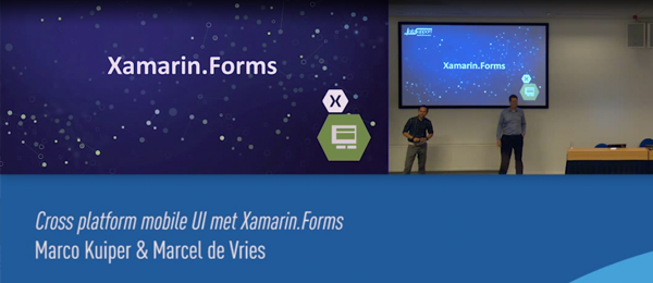 Presentation: Cross platform mobile UI with Xamarin.Forms