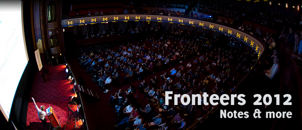 Fronteers 2012