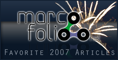 33 Favorite Marcofolio.net Articles from 2007
